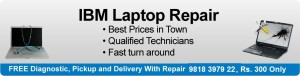 IBM Laptop Repair in Delhi